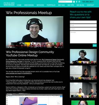 Wix Designer Meetup
