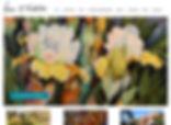Denver Website Design for a Denver Artist