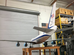Rear View of the Air Force One UAV.