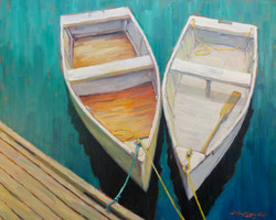Pair of row boats 24x30 SOLD