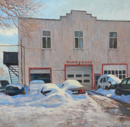 Pointe-Claire bodyshop 36x36