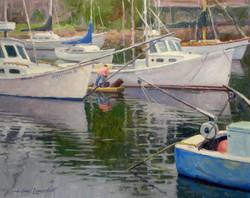Bateaux de pêche Ogonquit 16x20