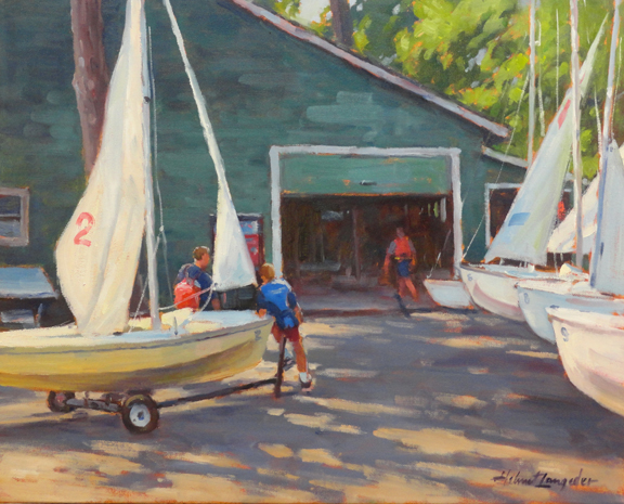 Sailing camp PCYC 16x20
