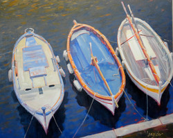 Bateaux de pêche 24x30 SOLD