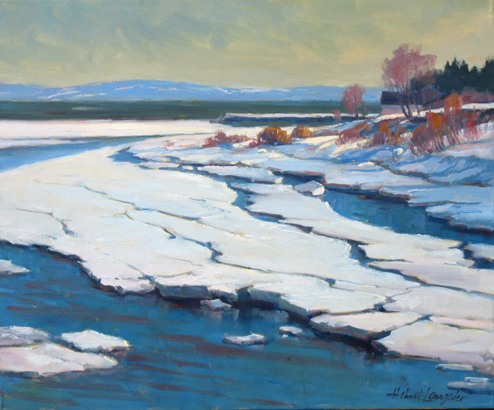 Ice Breakup 20x24