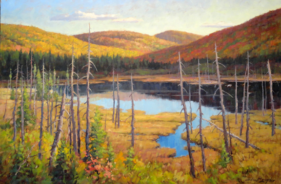 New growth Laurentians 24x36