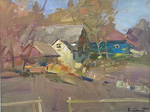 Ukrainian Village - Sergei Kovalenko