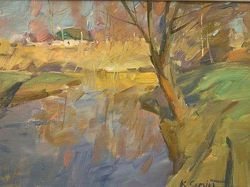 River Bank - Sergei Kovalenko