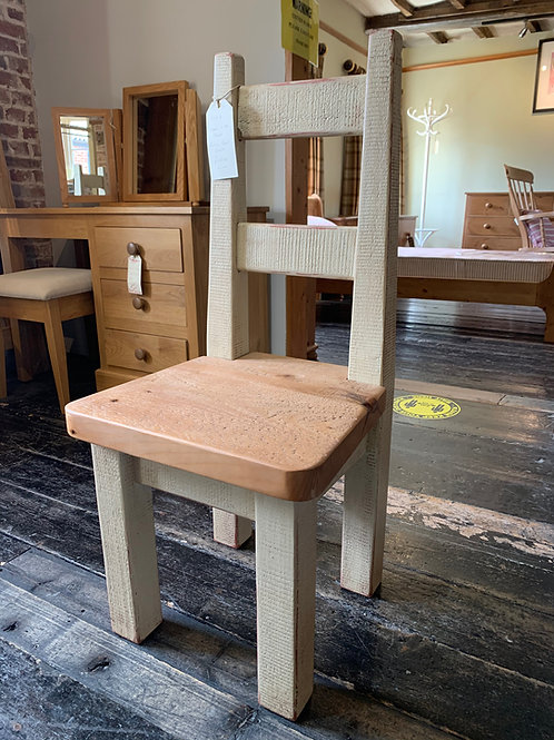 Plank Pine Side Chair