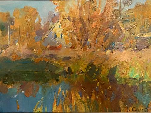 Autumn River - Sergei Kovalenko