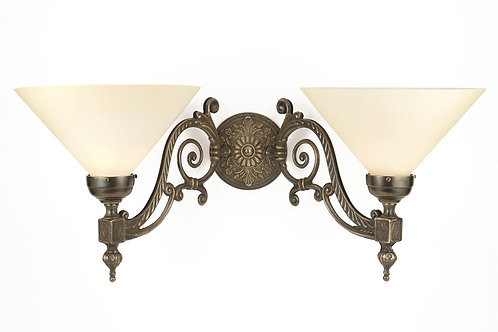90° Large Double Wall Light