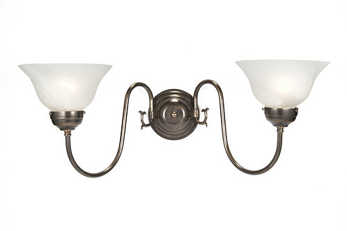 Flemish Double Wall Light