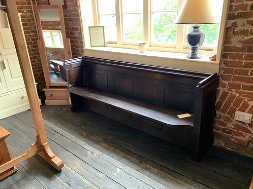 Antique Oak Pew
