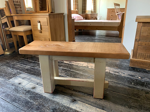 Plank Pine Bench