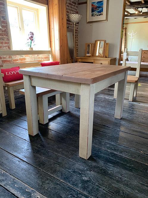 Plank Pine Kitchen Table