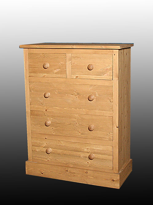 Shaker Style 2/3 Chest of Drawers