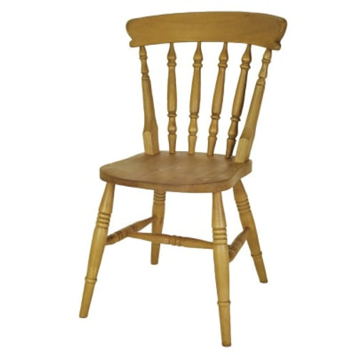 Beech Spindle Side Chair