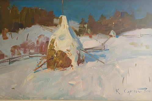 Snow Fields - Sergei Kovalenko