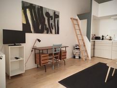 Studio RDC accès mezzanine