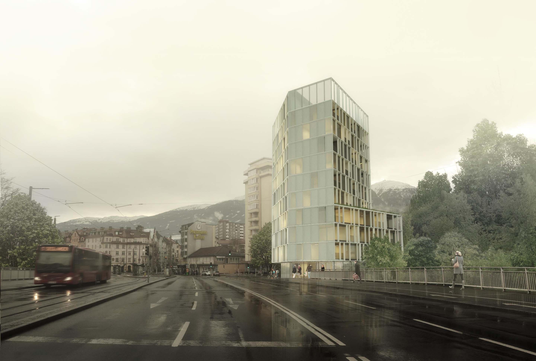 Wettbewerb Amraserstrasse Innsbruck