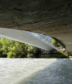 axamer steg naturns  Architekt Hubert Schlögl