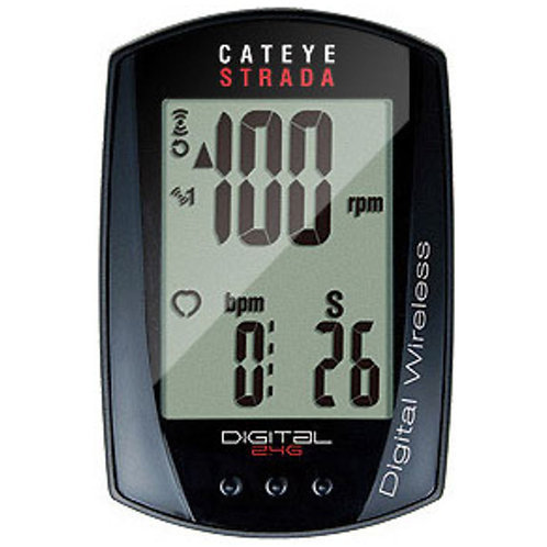 Cyclometre, Cat Eye, Strada Digital Wireless (CC-RD410DWB)