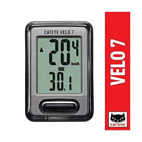 Cyclometre, Cat Eye, Velo 7 (CC-VL520)