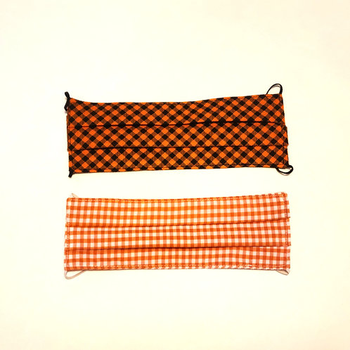 Patterned Face Mask (Plaids)