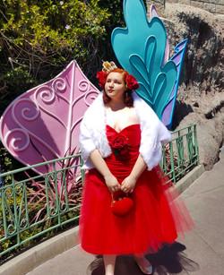 50's inspired Queen of Hearts Dress