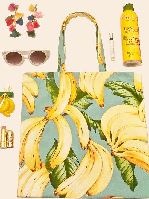 Summer Fruit Shopper Tote