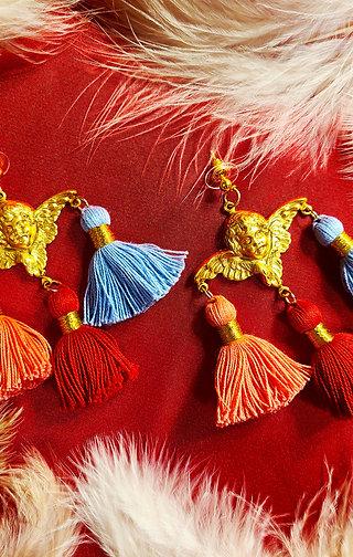 On Gilded Wings Earrings