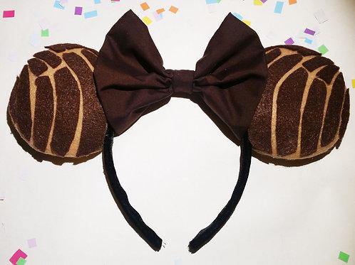 Celebracion Ears in Concha Chocolate