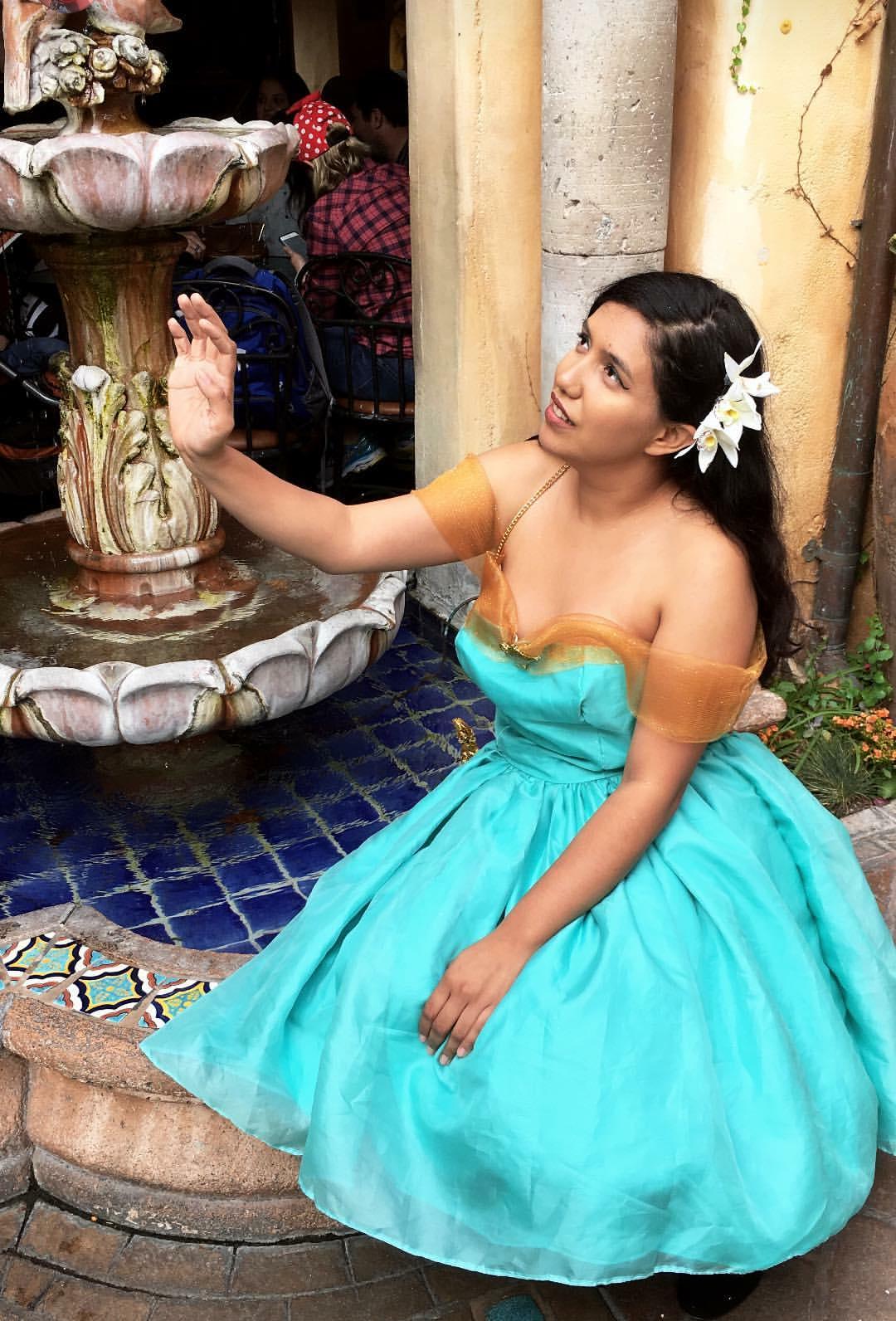 Custom Jasmine Dapper Dress