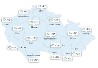 CerebroAd weather on map