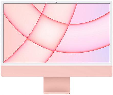 """Моноблок Apple iMac 24"""" Retina 4,5K, M1 (7-core GPU), 8 ГБ, 256 ГБ (розовый)"""