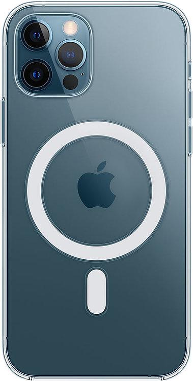 Чехол Apple MagSafe для iPhone 12 Pro Max, прозрачный