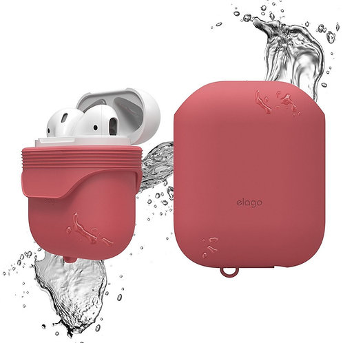 Чехол Elago Waterproof case для AirPods, красный