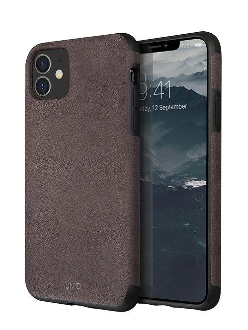 Чехол Uniq для iPhone 11, коричневый