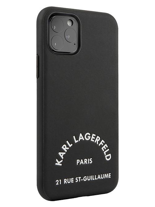 Чехол Karl Lagerfeld для iPhone 11 Pro, черный