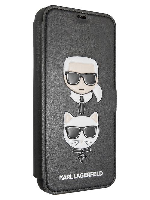 Чехол Karl Lagerfeld для iPhone 11 Pro Max, черный