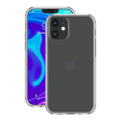 Накладка Deppa Gel Pro для Apple iPhone 12 mini, прозрачный, картон   87779