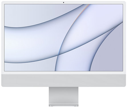 "Моноблок Apple iMac 24"" Retina 4,5K, M1 (7-core GPU), 8 ГБ, 256 ГБ (серебристый)"