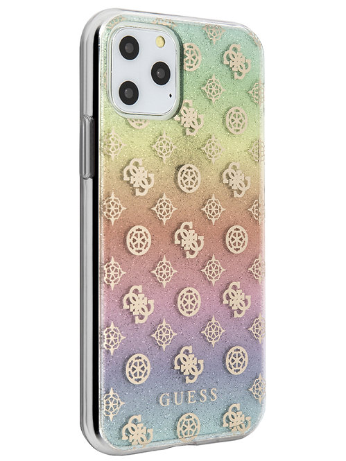 Чехол Guess для iPhone 11 Pro, прозрачный