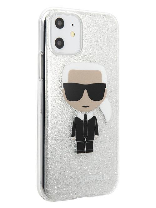 Чехол Karl Lagerfeld для iPhone 11, прозрачный
