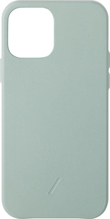 Чехол Native Union Clic Classic для iPhone 12 /12 Pro, кожа, мятный