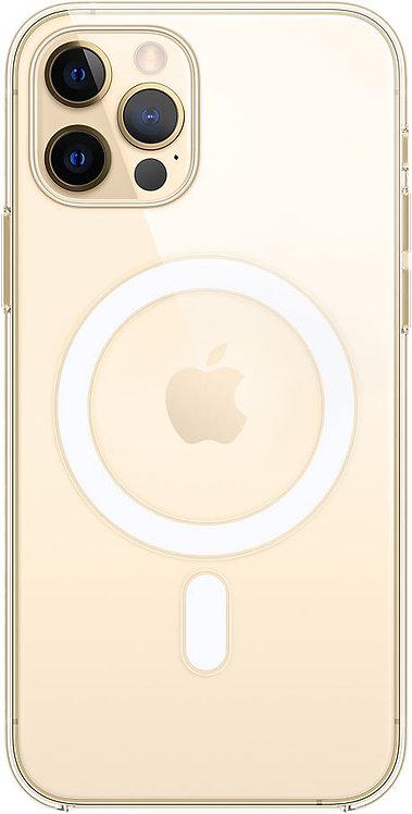 Чехол Apple MagSafe для iPhone 12/12 Pro, прозрачный