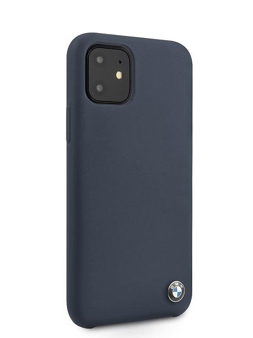 Чехол BMW для iPhone 11, синий