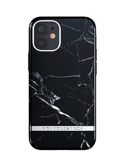 Richmond & Finch / Чехол для iPhone 12 mini (5.4) FW20 Black Marble