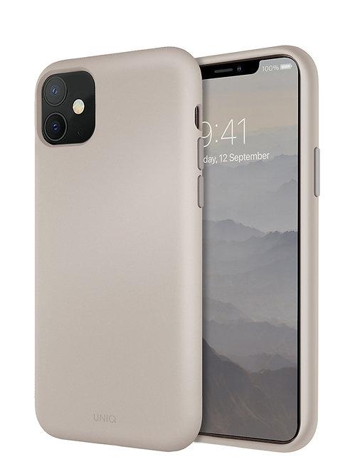 Копия Копия Чехол Uniq для iPhone 11, бежевый