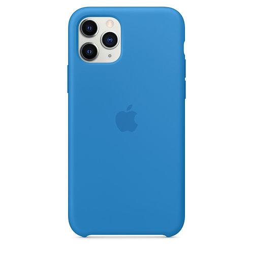 Силиконовый чехол для iPhone 11 Pro, цвет «синяя волна»